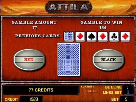 Бесплатный игровой автомат Аттила – шанс в онлайн режиме.
